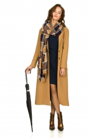 Kocca |  Long coat Dimity | camel  | Picture 3