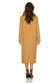 Kocca |  Long coat Dimity | camel  | Picture 6