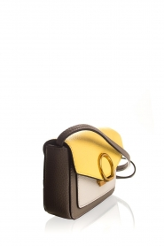 Smaak Amsterdam :  Mini shoulderbag Senn | yellow - img4