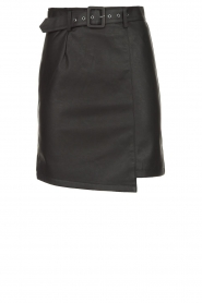 Kocca | Faux leather skirt Vida | black  | Picture 1