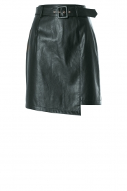 Kocca | Faux leather skirt Vida | green  | Picture 1