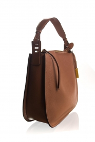 Smaak Amsterdam |  Leather shoulder bag Sanne | camel  | Picture 3