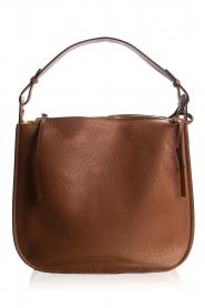 Smaak Amsterdam |  Leather shoulder bag Sanne | camel  | Picture 1
