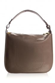Smaak Amsterdam |  Leather shoulder bag Sanne | grey  | Picture 4