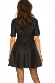 Kocca | Faux leather dress Nidra | black  | Picture 6