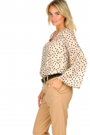 Kocca | Flared blouse Jill | natural  | Picture 4