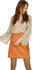 Kocca | Flared blouse Jill | natural  | Picture 2