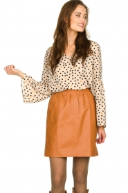 Kocca | Flared blouse Jill | natural  | Picture 7