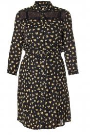 Kocca |  Foral dress Risto | black  | Picture 1
