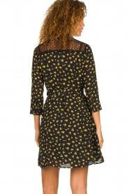 Kocca |  Foral dress Risto | black  | Picture 7