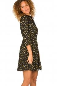 Kocca |  Foral dress Risto | black  | Picture 5