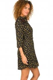 Kocca |  Foral dress Risto | black  | Picture 6