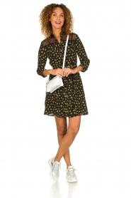 Kocca |  Foral dress Risto | black  | Picture 3