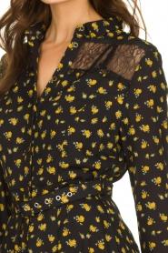 Kocca    Floral dress Risto   black    Picture 7
