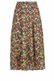 Lolly's Laundry |  Printed midi skirt Morning | multi  | Picture 1