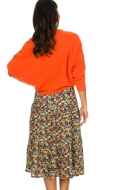 Lolly's Laundry |  Printed midi skirt Morning | multi  | Picture 6