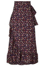 Lolly's Laundry |  Printed maxi skirt Amby | blue  | Picture 1