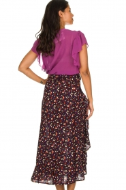 Lolly's Laundry |  Printed maxi skirt Amby | blue  | Picture 5