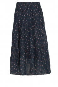 Lolly's Laundry |  Printed maxi skirt Morning | blue