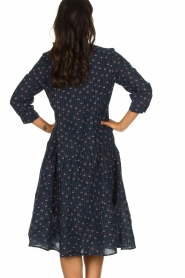 Lolly's Laundry |  Printed maxi dress Olivia | blue  | Picture 6