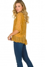 Lolly's Laundry |  Printed top Jenny | yellow  | Picture 5