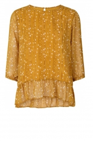 Lolly's Laundry |  Printed top Jenny | yellow  | Picture 1