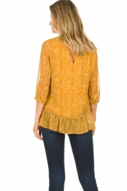 Lolly's Laundry |  Printed top Jenny | yellow  | Picture 6