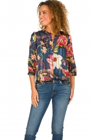 Lolly's Laundry |  Floral blouse Amalie | multi  | Picture 2