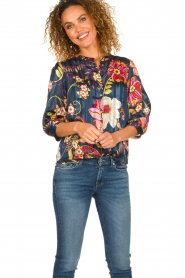 Lolly's Laundry |  Floral blouse Amalie | multi  | Picture 4