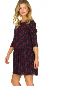 Lolly's Laundry |  Printed dress Gili | blue  | Picture 4