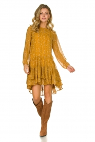 Lolly's Laundry |  Printed dress Piper | yellow  | Picture 3