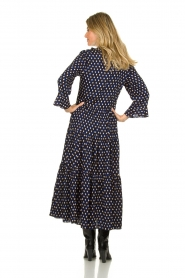 Lolly's Laundry |  Printed maxi dress Lilila | blue  | Picture 5
