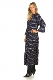 Lolly's Laundry |  Printed maxi dress Lilila | blue  | Picture 3