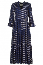Lolly's Laundry |  Printed maxi dress Lilila | blue  | Picture 1
