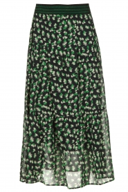 Lolly's Laundry | Skirt with print | green  | Picture 1
