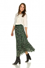 Lolly's Laundry | Skirt with print | green  | Picture 4
