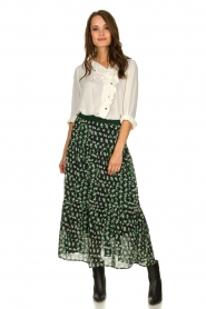 Lolly's Laundry | Skirt with print | green  | Picture 2