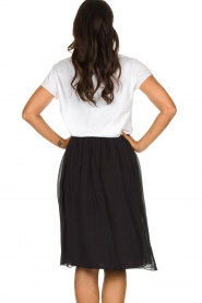 Lolly's Laundry |  Pleated midi skirt Pauline | black  | Picture 5