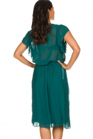 Lolly's Laundry |  Pleated midi skirt Pauline | green  | Picture 6