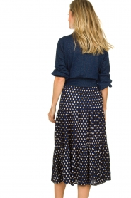 Lolly's Laundry | Skirt with print Morning | blue  | Picture 5