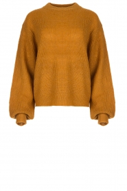 Lolly's Laundry | Knitted sweater Ameli | yellow  | Picture 1
