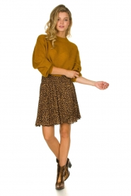 Lolly's Laundry | Knitted sweater Ameli | yellow  | Picture 3