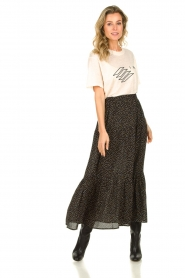 Lolly's Laundry | Skirt with dots Bonny | black  | Picture 2