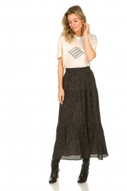 Lolly's Laundry | Skirt with dots Bonny | black  | Picture 4