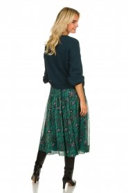 Lolly's Laundry | Skirt with lurex Cokko | green  | Picture 4