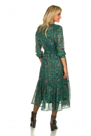 Lolly's Laundry | Maxi-dress with lurex  Anastacia | green  | Picture 5