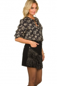 Lolly's Laundry | Top with lurex  Amalie | black  | Picture 4
