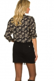 Lolly's Laundry | Top with lurex  Amalie | black  | Picture 5