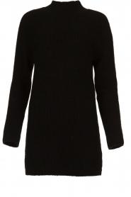 Aaiko |  Tunic sweater Bree | black  | Picture 1