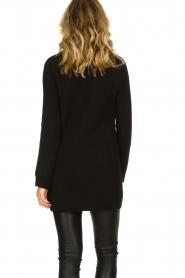 Aaiko |  Tunic sweater Bree | black  | Picture 6